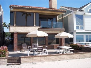 Beautiful Oceanfront Home on the Sand!  West Newport Beach. Pride of Ownership!