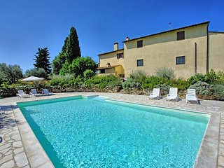 Two Tuscany Apartments with Views Over the Chianti Classico Hills - Casa Desider
