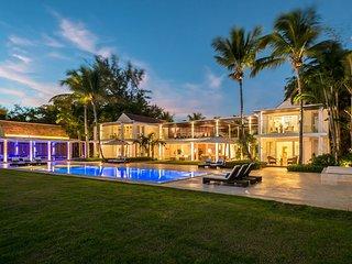 Modern Oceanfront Villa, Exclusive Area in Casa de Campo, Full Staff, AC, Free W