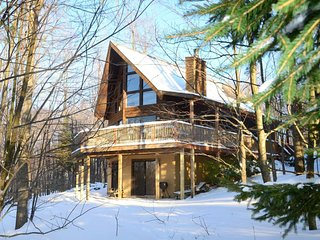 Pinnacle Perch is a fantastic cedar chalet that harbors a host of fabulous