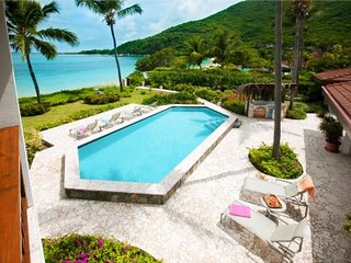 Amazing 6 Bedroom Villa on Mahoe Bay, Virgin Gorda