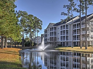 New! 3BR Murrells Inlet Condo on Golf Course!
