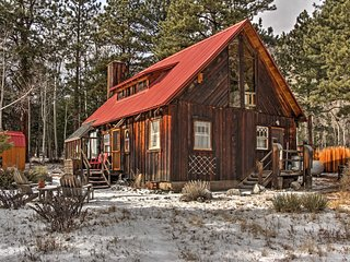 New! Charming 4BR Nathrop Cabin on 1 Acre of Land!