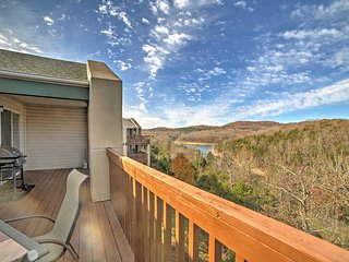 New! 2BR Branson Condo On Scenic Table Rock Lake!