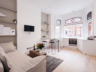 Barons Court Lodge II apartment in Hammersmith with WiFi.