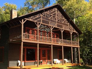 Historic Lady Tree Lodge on Upper Saranac Lake, Lake Placid