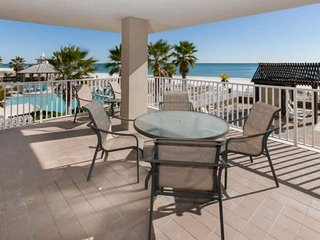 2nd Floor Gulf-front East Corner | In/Outdoor pools, Hot tub, Fitness, BBQ | Fre