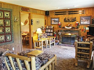 Located at Base of Powderhorn Mtn in the Western Upper Peninsula, A Snug Home With Excellent View of Ski Hill