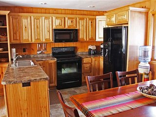 Located at Base of Powderhorn Mtn in the Western Upper Peninsula, A Warm Trailside Duplex with Gorgeous Kitchen, Dining & Living Room