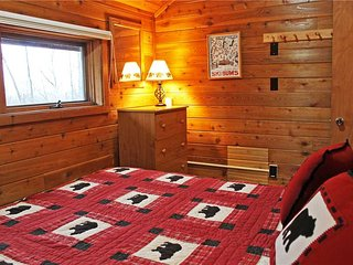Located at Base of Powderhorn Mtn in the Western Upper Peninsula, A Comfortable Trailside Duplex with Shared Outdoor Hot Tub
