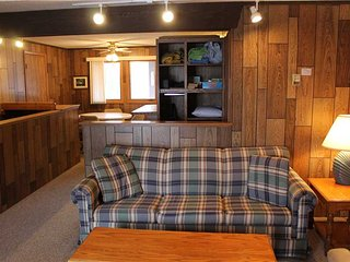 Located at Base of Powderhorn Mtn in the Western Upper Peninsula, A Simple Trailside Condo with a Shared Hot Tub & Allows Dogs