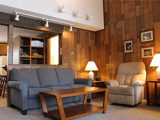 Located at Base of Powderhorn Mtn in the Western Upper Peninsula, A Trailside Condo with a Shared Hot Tub & Allows Dogs