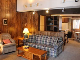 Located at Base of Powderhorn Mtn in the Western Upper Peninsula, An Affordable Trailside Condo with a Shared Hot Tub & Allows Dogs
