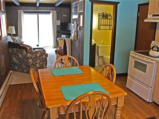 Located at Base of Powderhorn Mtn in the Western Upper Peninsula, A Quaint Duplex with Shared Outdoor Hot Tub Located 1 Block from Main Ski Lodge, Ironwood