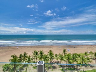 Spacious pair of oceanfront condos w/ easy access to beach, shared pools, more!