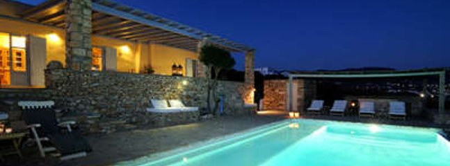Magnificent 3 Bedroom Villa in Paros, Aliki