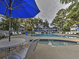 NEW! 2BR Hilton Head Island Condo - Walk to Beach!