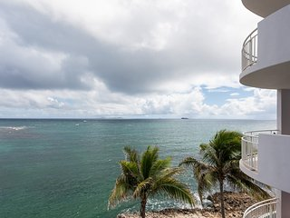 LIGHTHOUSE 3B...Stunning views, luxury oceanfront condo, short walk to, Philipsburg