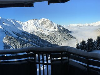 Avoriaz 2 rooms 4 people stunning view and quiet