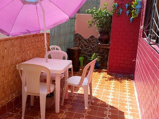 Apartment with 2 rooms in Casablanca, with wonderful city view, terrace and WiFi - 10 km from the beach