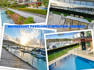 Pavillions 12 - Waterfront Spacious 4 Bedroom With Own Inground Pool And Golf, Hamilton Island