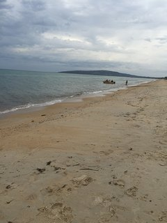 Like to go boating or Paddling. Hire at one minute walk at the beach