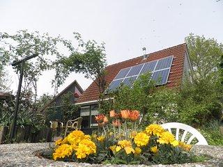 Luxury holiday home with Sauna near Wadden Sea Friesland, Anjum