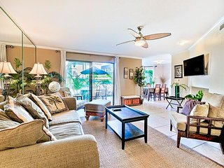 Beautiful condo w/ heated oceanfront pools and spas -beach access, Solana Beach