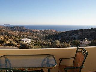 Ferienhaus Eagles-View für 2-3 Personen mit überwältigender Aussicht, Triopetra