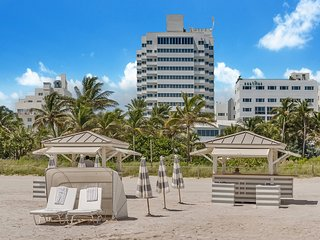 3 Room Art Deco Oceanfront Suite at Shelborne South Beach, Miami Beach