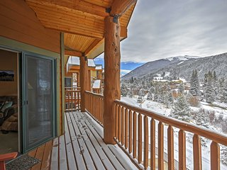 NEW! 2BR Keystone Condo Walking Distance to Slopes!