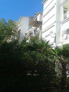 pogled na balkon