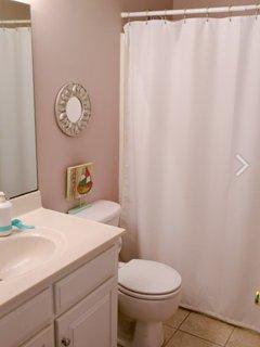 Hallway Bath Shower and Tub