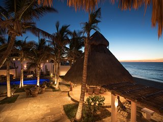 Beachfront Private Villa San Jose del Cabo inc concierge and staff