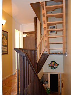 stairs to 3rd floor 'Loft'