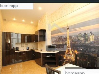 Appartement style europeen a Moscou