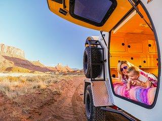 Red Rock Base Camp Nightly Teardrop Trailer Rentals, Moab