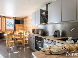 Val Thorens Nazca C6, ski vacation rental, modern, track access, 12 pers.