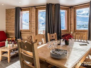 Val Thorens, Nazca D4, luxury rental, convivial, comfortable, 13 per