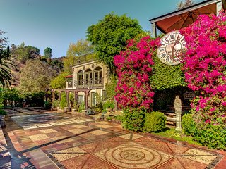 The Houdini Estate Hollywood Hills Mansion