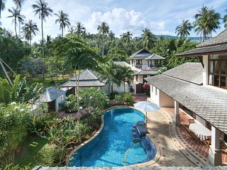 Banyan Pool Villa 1 Bang Por Beach – sleeps 8