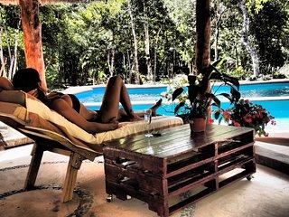 Hermosa Villa en la Selva a solo 2km de la Playa, Chemuyil