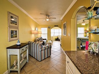 Open floor plan is perfect for family interaction