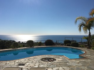 Hilltop view villa with some of the best sea views in Cyprus Free Wi- Fi, Pissouri