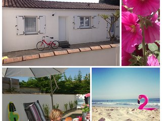 Beach house Ocean, 400 meters from the sea and village, Ile de Ré, Le Bois-Plage-en-Ré