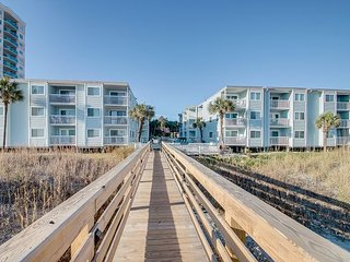 2bd/2ba comfortably furnished condo in an oceanfront three story building