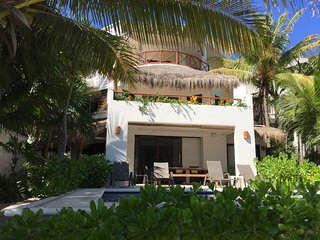 Beautiful private beachfront home, offers luxury and comfort in a gated bay