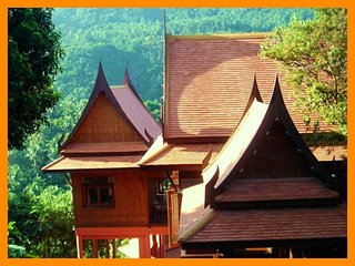 3011 - Authentic Thai wooden house