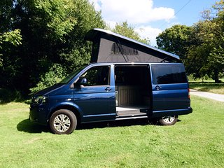 VW T5 Campervan Hire Dorset | From 'Jurassic Coast VW Camper Hire' | Swanage
