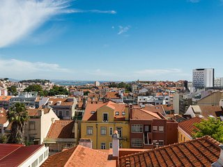 Great view in central Lisbon, Lissabon